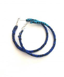 Ohrringe blau